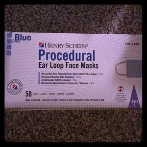 Box of 50 ASTM LEVEL 2 Face Masks
